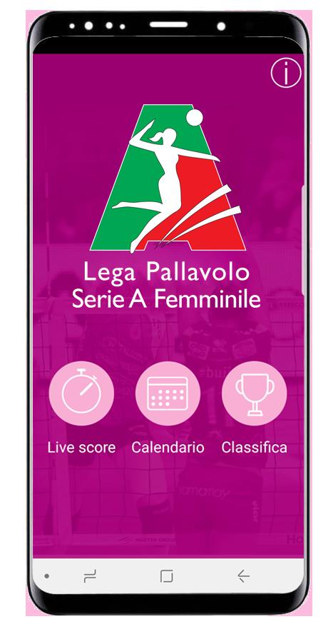 App Livescore Lega Volley Femminile Lega Pallavolo Serie A Femminile