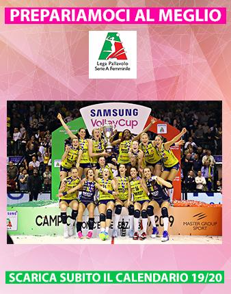 Serie A2 Pallavolo Maschile Calendario.Lega Pallavolo Serie A Femminile