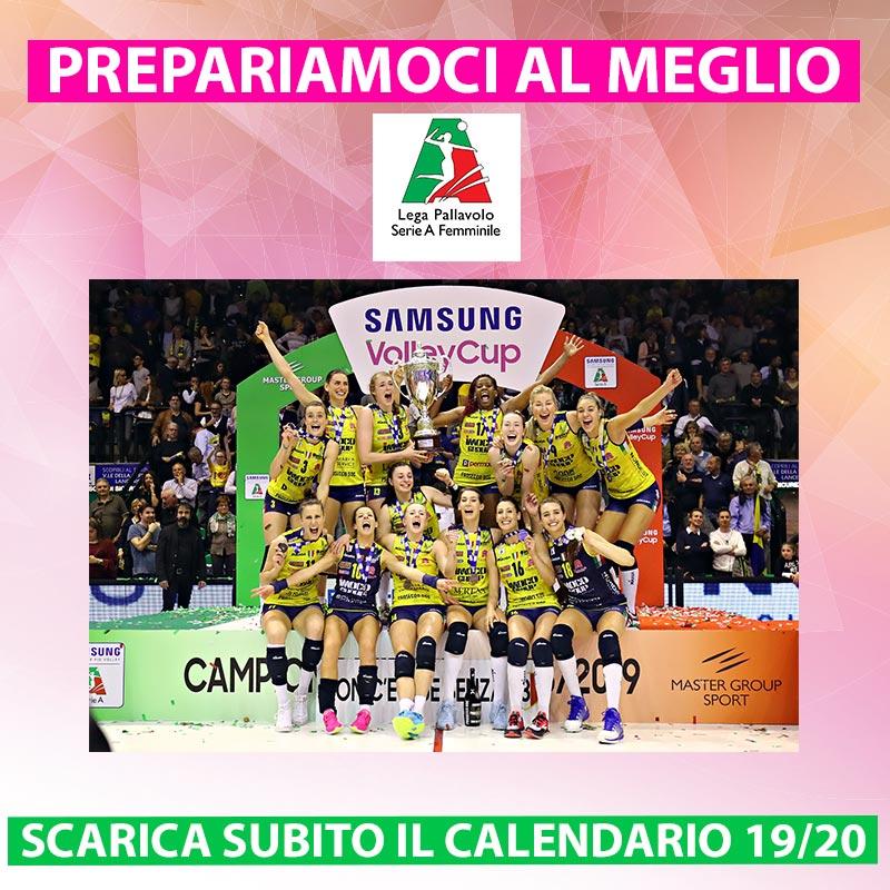 Calendario Serie A 18 19 Pdf.Campionati Serie A Femminile 2019 20 Pubblicati I Calendari